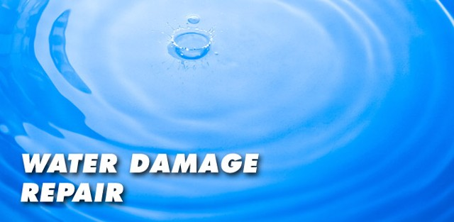 water clean-up / water damage restoration